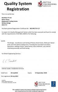 Certificate-ISO-2016-Rotaflow