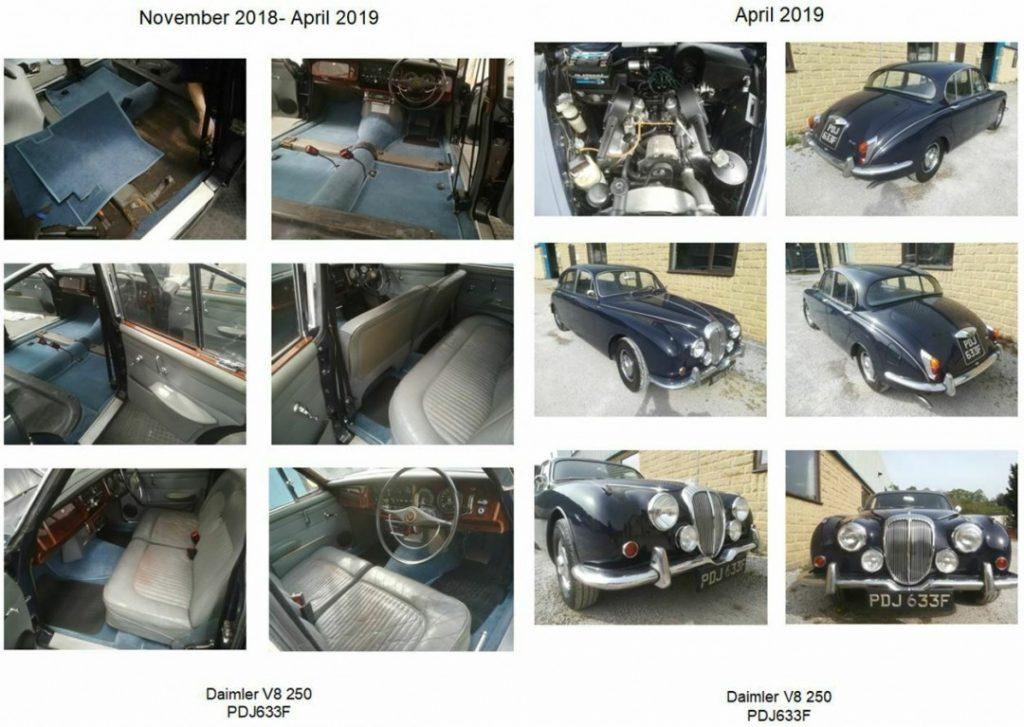 1968 Daimler Restoration