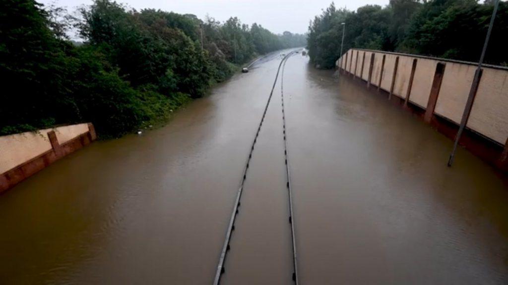 a555 flood